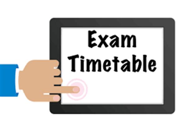 Exam Timetables