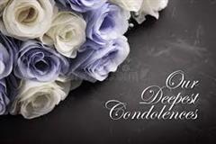 Our Heartfelt Condolences